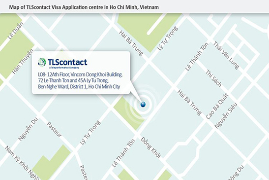 TLScontact center - Vietnam